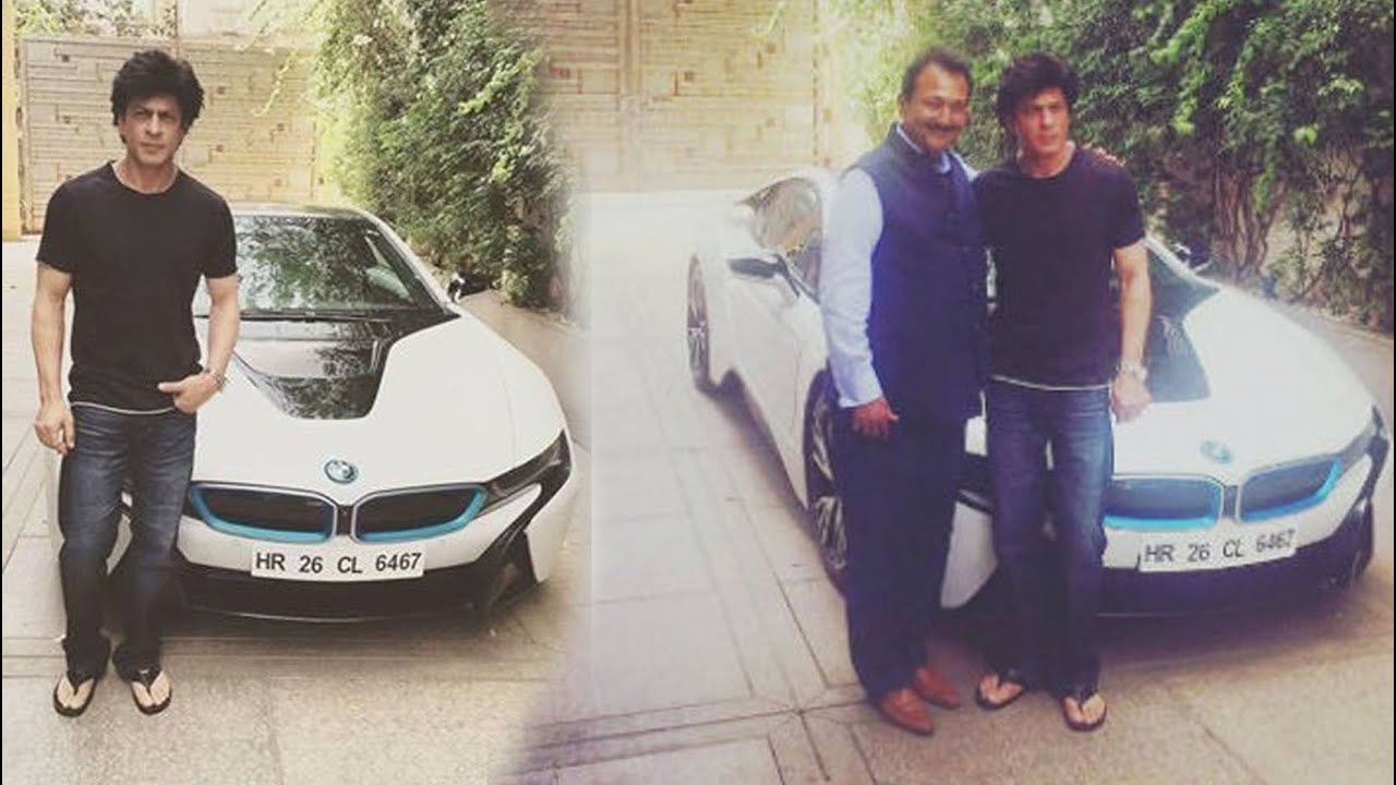 Shahrukh Khan Is Now A Proud Owner Of Bmw I8 Youtube