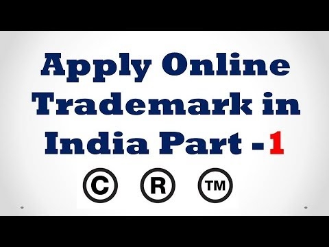 How to Apply Online Trademark Registration in India [Hindi]