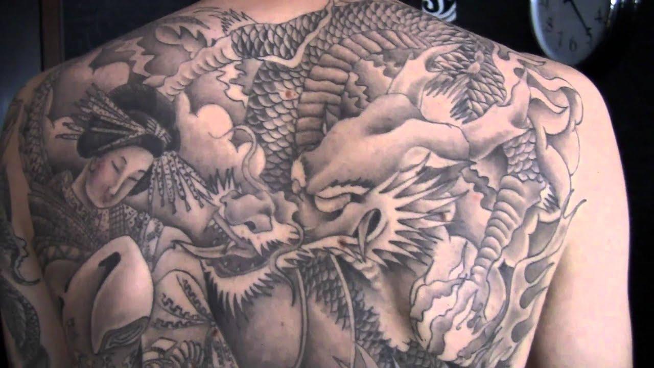 Tatuagem Japonesa dragão