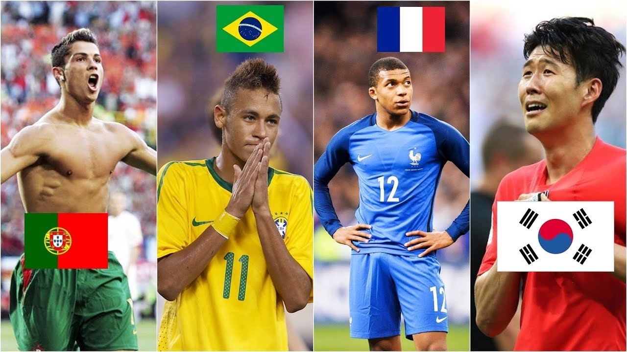 Famous Football Players First Goals for National Teams