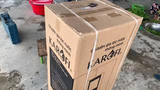Unboxing máy lọc nước RO Karofi KSI80-A 8 lõi ( máy cơ) chất lượng và bền bỉ.