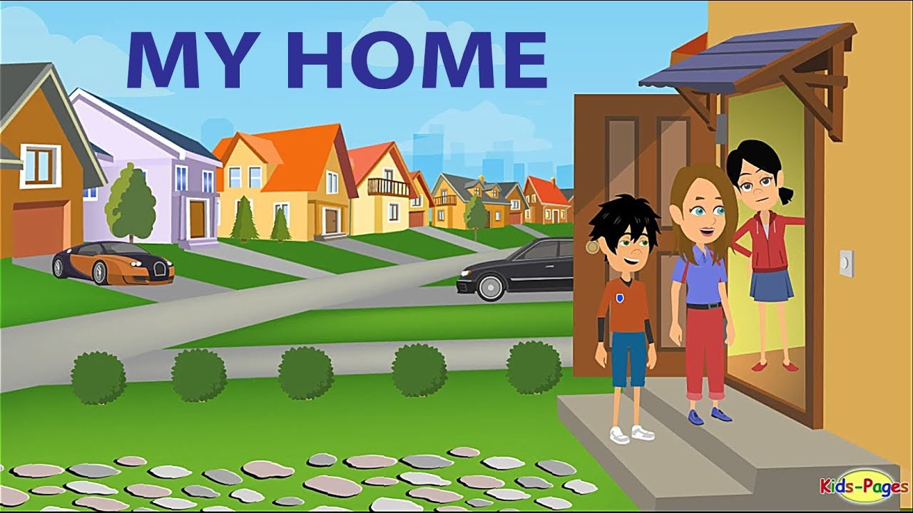 Download Talking about Your Home in English