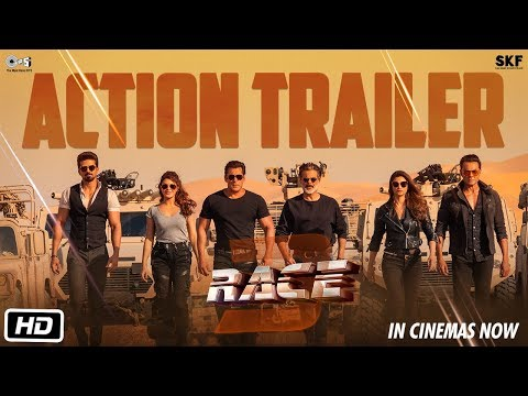 Race 3 | Action Trailer | Salman Khan | Remo D'Souza | Releasing on 15th June 2018 | #Race3ThisEID thumbnail
