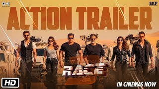Race 3 | Action Trailer | Salman Khan | Remo D'Souza | Releasing on 15th June 2018 | #Race3ThisEID