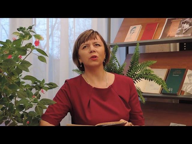 Изображение предпросмотра прочтения – АлександраСуханова читает произведение «Мне нравится, что Вы больны не мной...» М.И.Цветаевой
