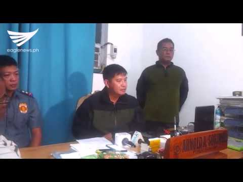 Press briefing on police encounter with NPA rebels in San Nicolas, Pangasinan (July 28, 2017)