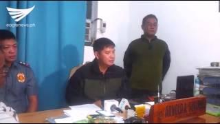 Press briefing on police encounter with NPA rebels in San Nicolas, Pangasinan (July 28, 2017)