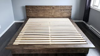 DIY 5 Minutes Bed Frame