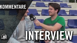 Interview mit Benedikt Kosak (SC Borussia Lindenthal-Hohenlind) | RHEINKICK.TV