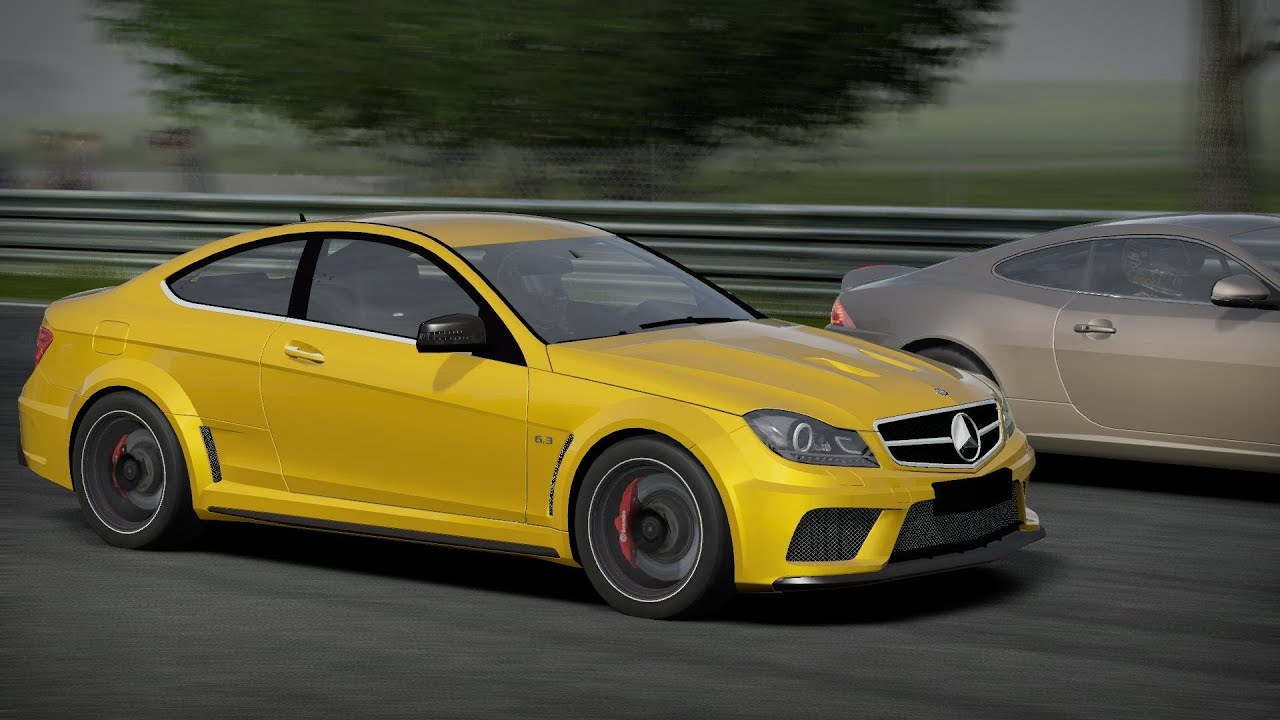 Nfs Shift 2 Unleashed Hd 2012 Mercedes Benz C63 Amg Black Series On Nordschleife Aremberg
