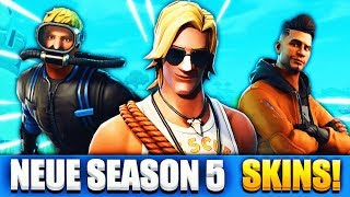 THIS SKINS COME IN SEASON 5!! (Leak) | Fortnite Battle Royale