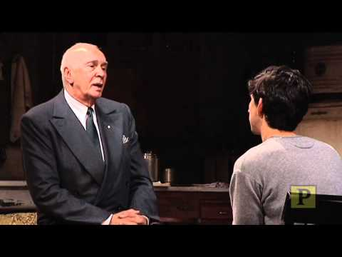 "Highlights From  ""Man and Boy"" Starring Frank Langella"
