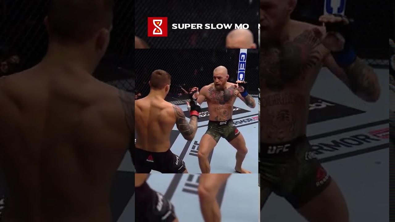 Brutal Leg Kicks Crippled McGregor by Dustin Poirier #Shorts