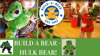 Trip To Build A Bear Hulk Bear, Scents, Army Outfit