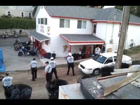 Hells Angels vs Mongols Sturgis Rumble Aftermath on August 10, 2011 - Video  #1