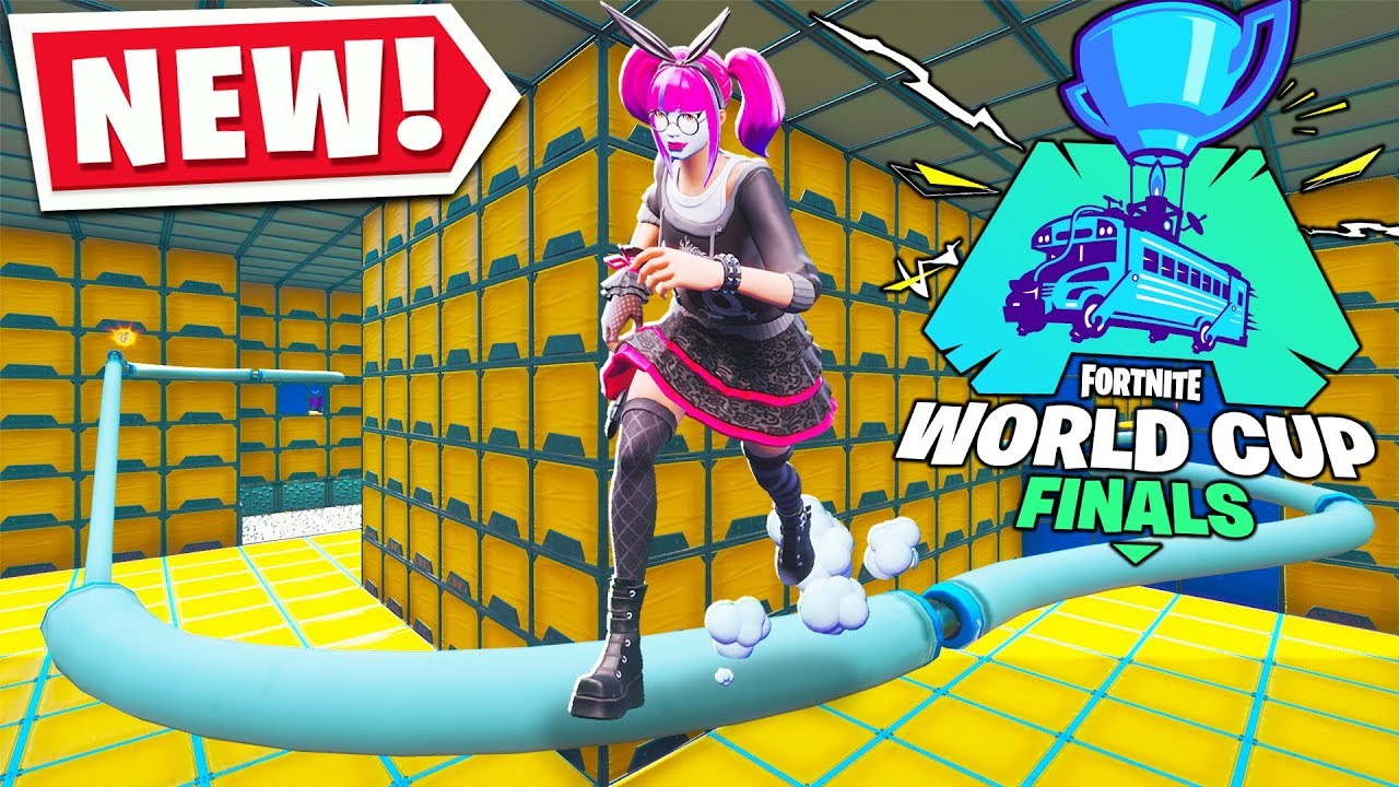 the new cizzorz world cup deathrun map fortnite creative mode - fortnite world cup map
