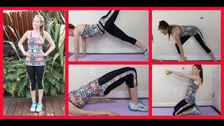 Bikini Body Ready! My At Home Total Body Workout ♡ | Blair Fowler Thumbnail