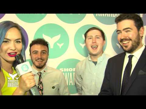 Life Noggin's Teal Carpet Interview at the Shorty Awards