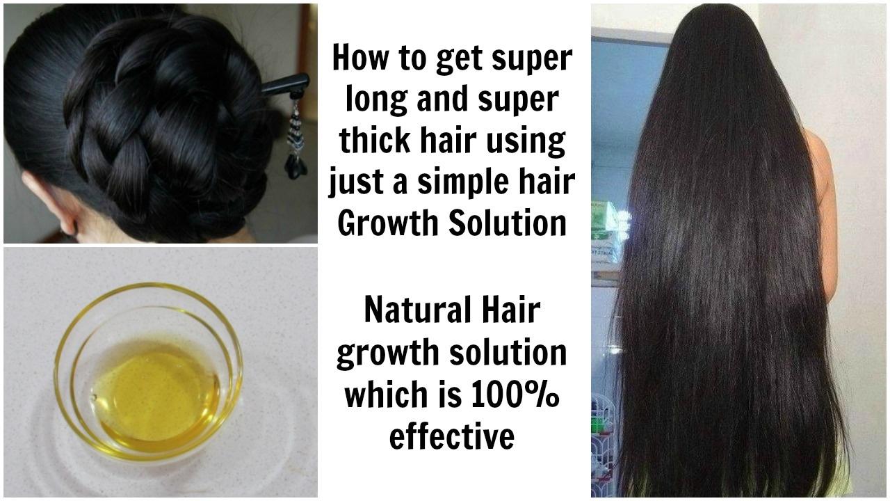 U0026quot How To Get Long Thick Super Soft Hairu0026quot