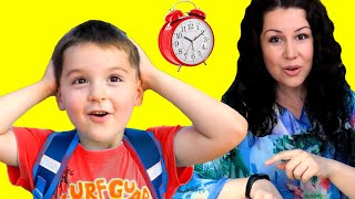 Put On Your Shoes Song | Nart Pretend Play Morning Routine Brush Teeth Nursery Rhymes Kids Songs