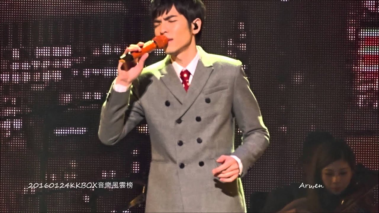 20160124KKBOX音樂風雲榜 蕭敬騰 《現場版~全》-《 一次幸福的機會》 《城裡的月光》《愛的箴言 》 - YouTube