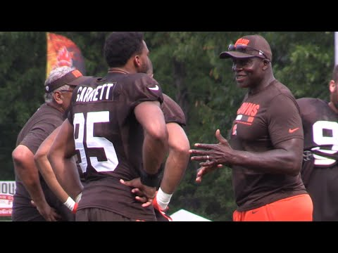 Bruce Smith says Myles Garrett can be an impact player as a rookie for the Browns
