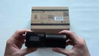 Аккумуляторный поисковый фонарь Imalent DD4R Обзор