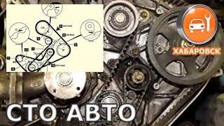 4D56 - Замена ГРМ ремня и балансиров (Mitsubishi Pajero)