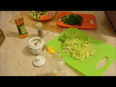 Рецепт: Салат из креветок на