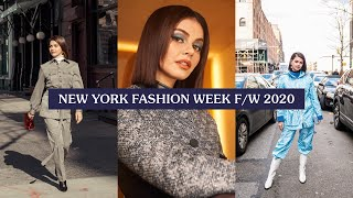 New York Fashion Week FW2020 with Tresemme + GIVEAWAY!
