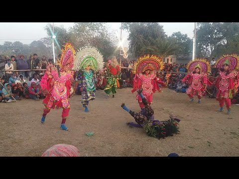 Chhau nach | Chow dance | by Purulia, West...
