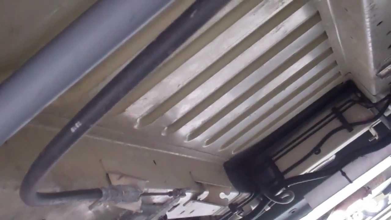 Underslung Water Tanks On Ducato Youtube