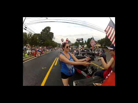 Time lapse video of the 2017 Parade in Bel Air Maryland with J3 fishing