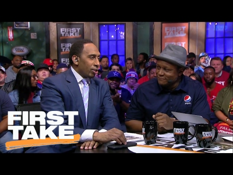 Ezekiel Elliott Is The Best Running Back In The NFL | First Take | February 2, 2017