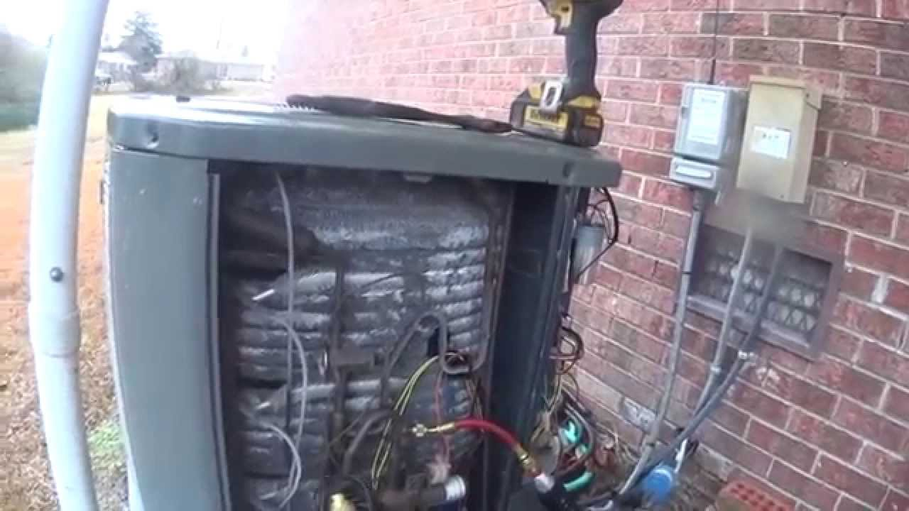 HVAC Service: Noisy Condenser Fan Motor: A Day in the Life Episode 3 Call 1