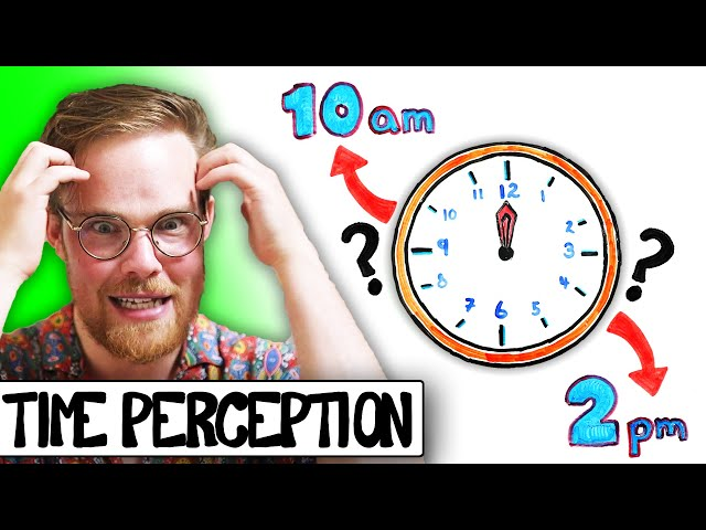 Which of these TWO ways do you perceive time?