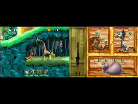 Madagascar DS gameplay/w commentary p.4 --