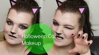 Halloween Cat Makeup | LiddieLoo Thumbnail