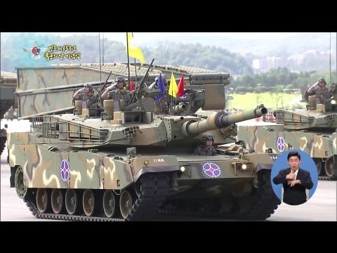 KBS - South Korea 65th Armed Forces Day Military Parade 2013 - Military Assets Parade [1080p]
