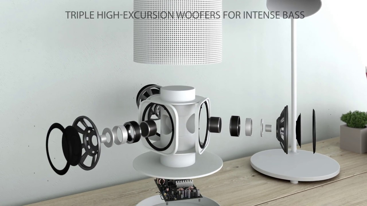 3D product animation - GGMM E4 Bluetooth Speaker