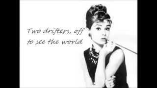 Audrey Hepburn -Moon River (lyrics)