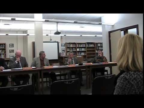 Dunmore School Board Meeting 11 19 14