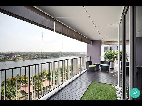 Condo Balcony Design  YouTube