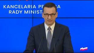 Morawiecki o koronawirusie: odwołujemy wszystkie imprezy masowe w Polsce | 10.03.2020