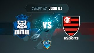 CBLoL 2019: 2ª Etapa - Fase de Pontos | CNB x Flamengo (Jogo 1)