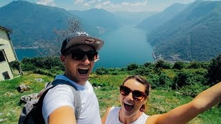 BEST VIEW IN LAKE COMO | #2 - Italy | Saunders Says Travel Vlog