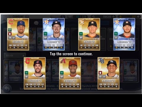 A couple new diamonds, great skill change, upgrades packs Combos and more MLB 9 Innings 17