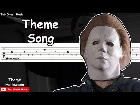 Halloween - Theme Song Guitar Tutorial