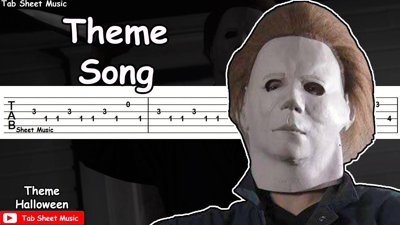 halloween theme song guitar tutorial - Halloween Theme Song Guitar