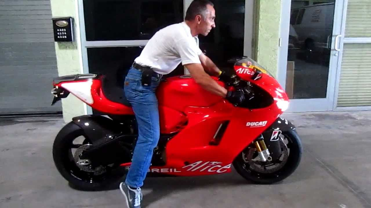 Ducati Desmosedici RR by Advanced Detailing of South Florida - YouTube